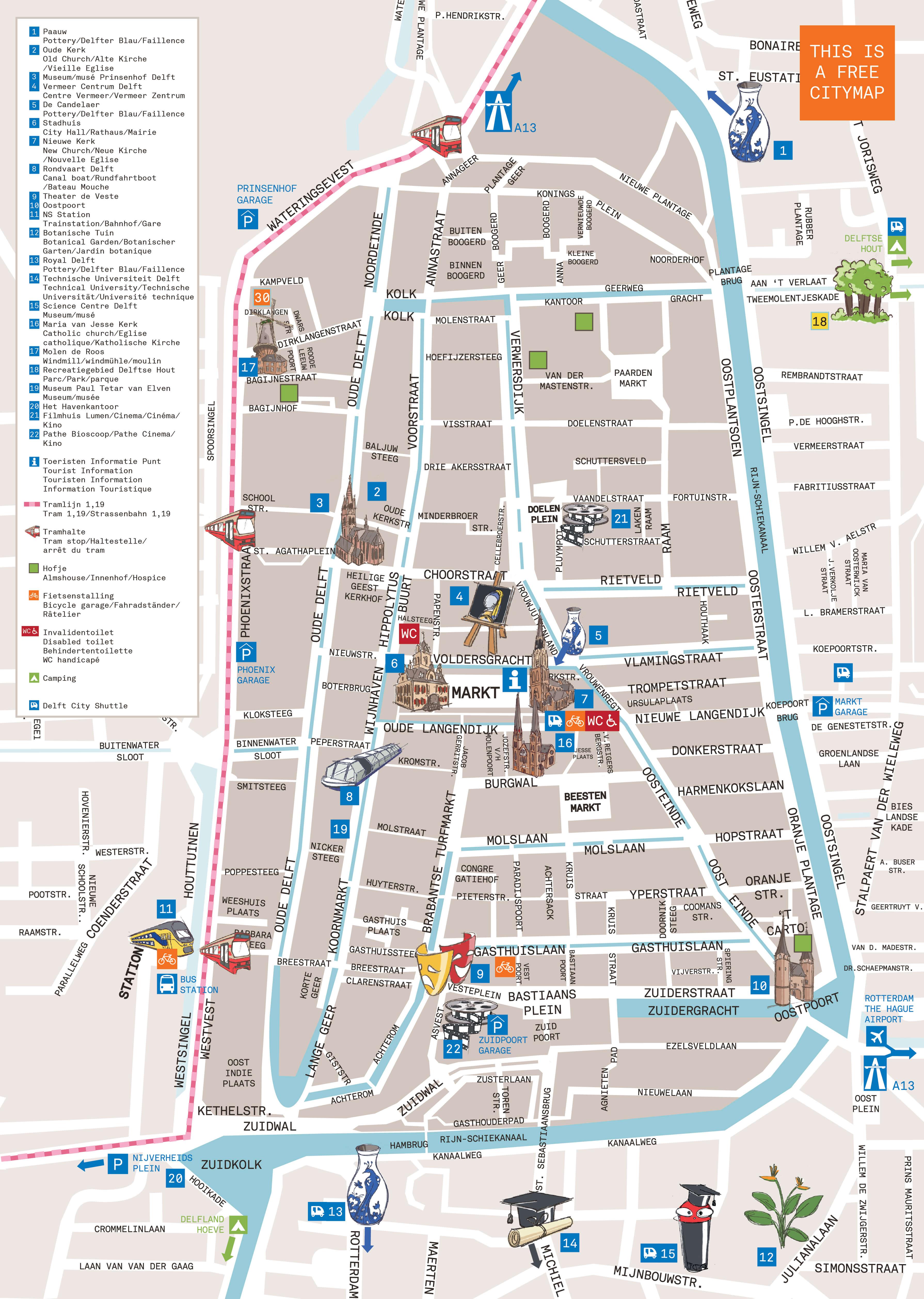 Your Cityguide To Delft Delft Com