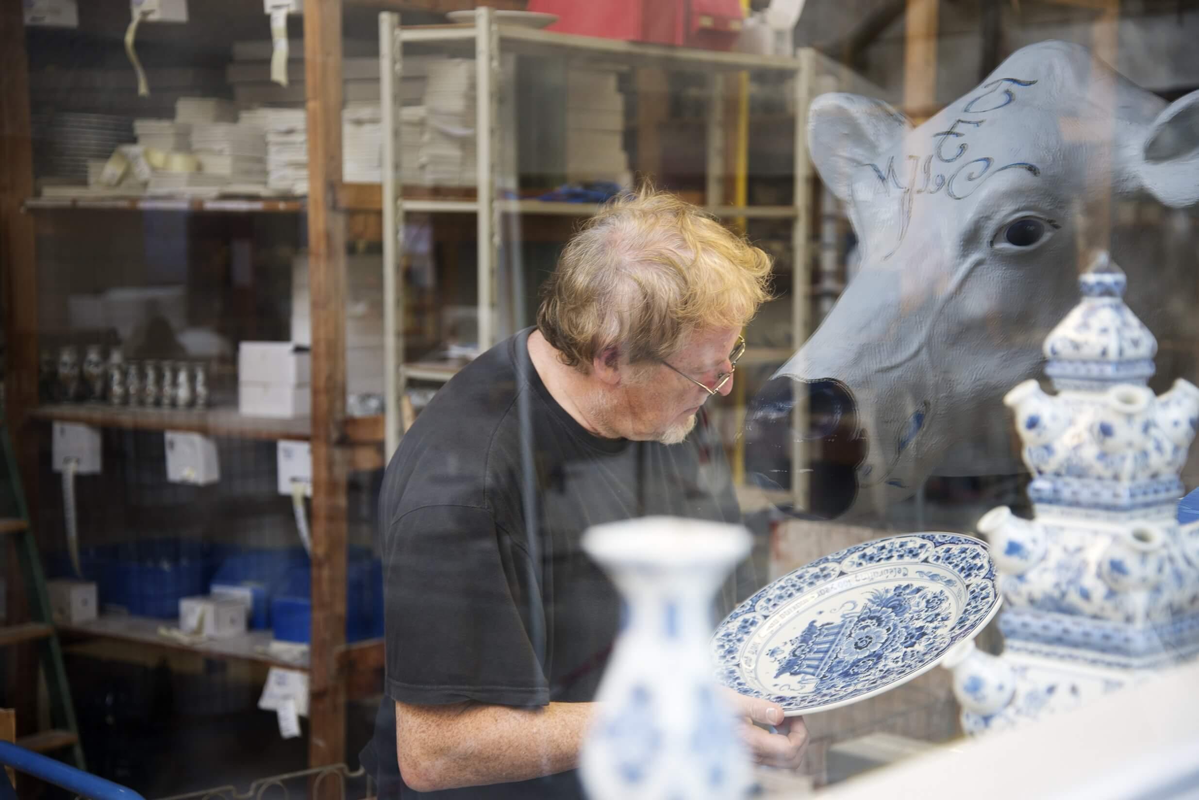 Wonderbaar Delfts Blauw fabrieken — Delft.com ID-87